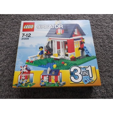 LEGO Creator 31009 Mały domek 3w1 NOWE!