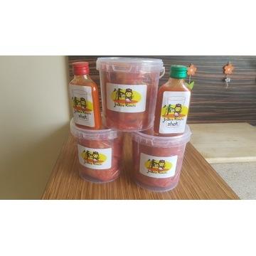 Kimchi zestaw 1 kg kimchi plus 100 ml kimchi shot
