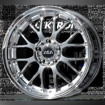 """ASA REVOLUTION AR1 CHROM 9.5J x 19"""" BMW E60 E63 E6"""