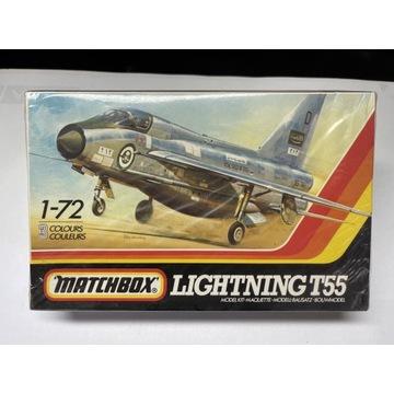 Matchbox 1:72 BAC LIGHTNING T55