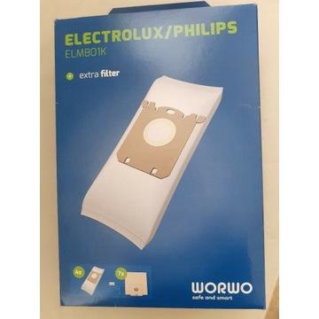 Worki do odkurzacza Electrolux /Philips ELMB01K