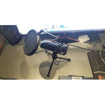 Mikrofon GXT Trust MANTIS pc laptop streaming