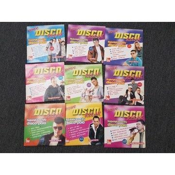 Płyty cd muzyka gorąca piątka disco polo
