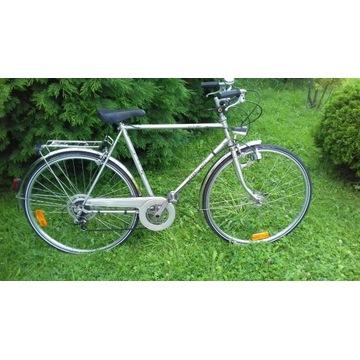 Rower miejski Staiger 28cali,oświetlenie,błotniki