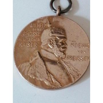 Medal Wilhelm 1 1897r (okazja)