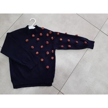 Sweter półgolf ZARA r.128