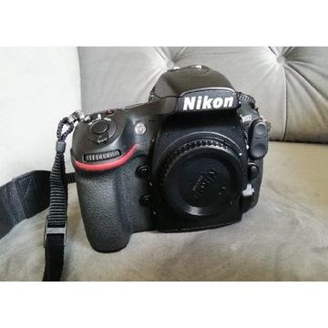 Nikon D 810 korpus + grip +dodatkowa bateria