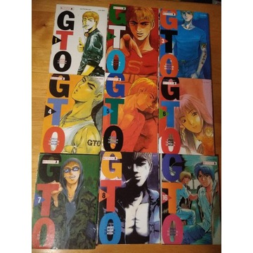 GTO Great Teacher Onizuka tomy 01-08 oraz 16 Manga