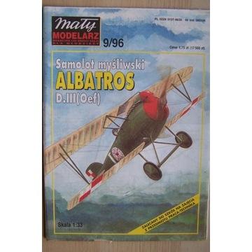 Mały Modelarz 9/96 Samolot Albatros D.III(Oef)