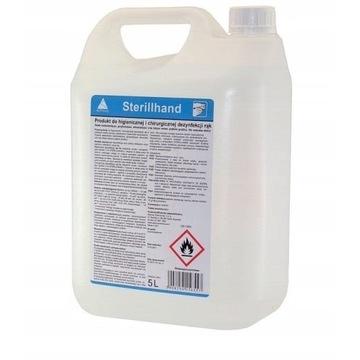 Sterillhand 5l płyn do dezynfekcji + dozownik