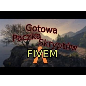 Paczka Fivem na serwer baza danych + cfg
