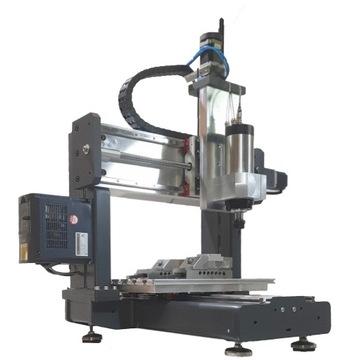Frezarka CNC 4D do metalu 4 osie