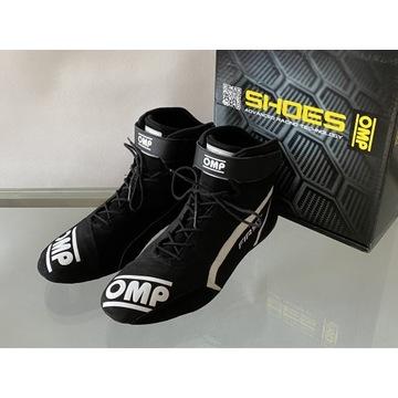 Buty rajdowe OMP FIRST 2021 FIA czarne rozmiar 45