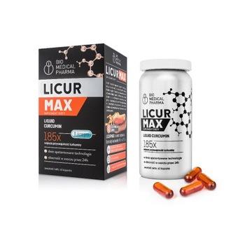 Licur Max – płynna kurkumina w postaci micelarnej