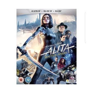ALITA BATTLE ANGEL 4K ULTRA HD+BLU-RAY+ 3D PL