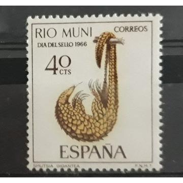Znaczki czyste RIO MUNI Hiszpania 1966r Mi73
