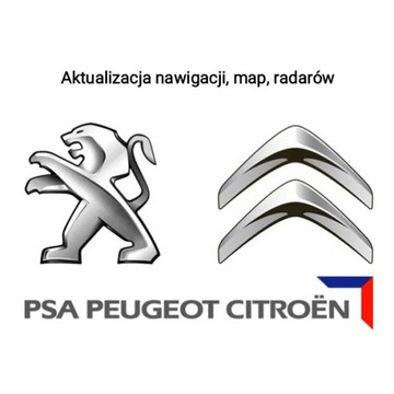 Aktualizacja Map Peugeot/Citroen 2021/2+Fotoradary