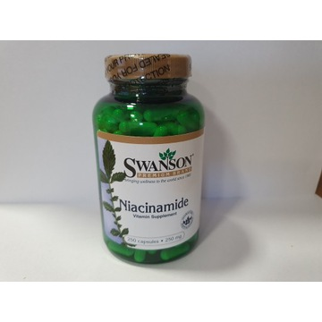 SWANSON Niacinamide 250 mg - układ nerwowy, skóra