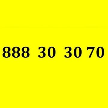 Złoty platynowy numer telefonu karta 888 30 30 70