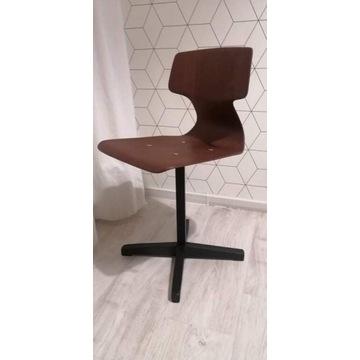 Krzesło dziecięce vintage, retro, prl Galvanitas