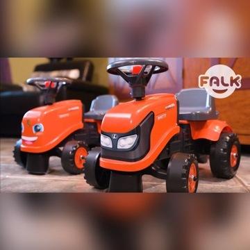 Traktor Kubota Jeździk przyczepka dla dzieci FALK