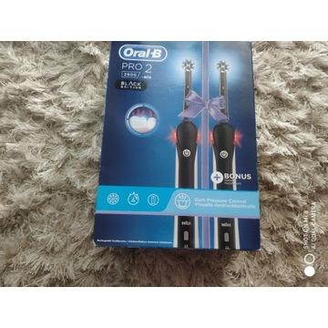 Elektryczne Szczoteczki Oral-B 2900 Pro 2 Black Ed