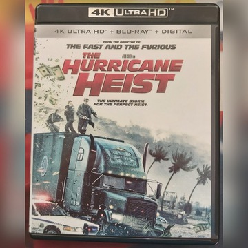 THE HURRICANE HEIST 4K UHD