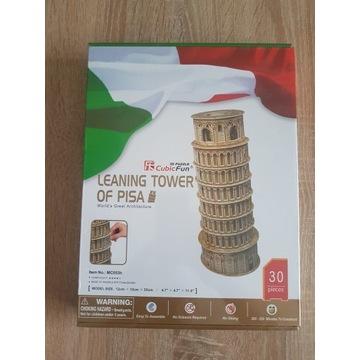 Puzzle 3D wieża Pisa