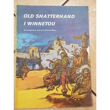 Old Shatterhand-KOMIKS. I WYDANIE! UNIKAT!!