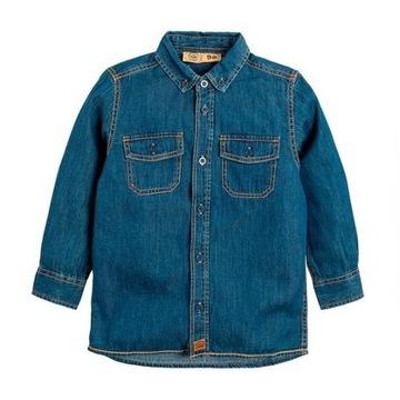 COOL CLUB Koszula z cienkiego jeansu - NOWA - 170