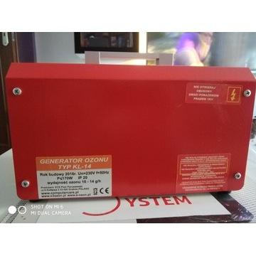 generator ozonu Polska produkcja 14g/h ozonator