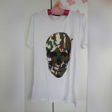 Donald77Guerrier t-shirt z czachą
