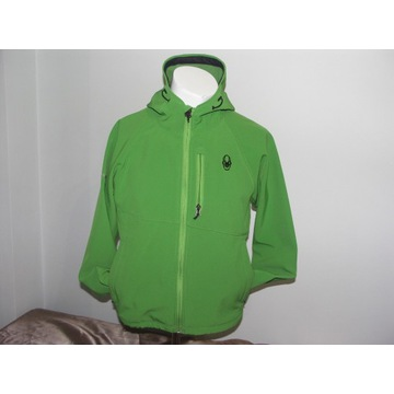 Kurtka bluza Softshell Spyder S/M zielona IDEALNA