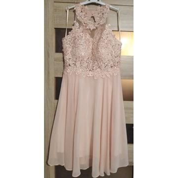 Sukienka ślub komunia r 40 L