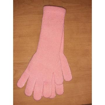 Nowe rękawiczki dziecięce 32cm długie dziewczynki