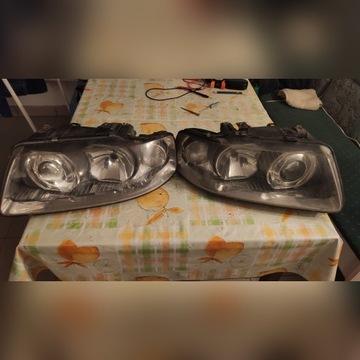 Lampy Przednie Audi A3L lift XENON Hella