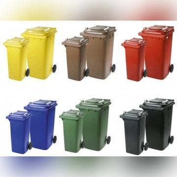 Pojemniki Kosze na śmieci BIOODPADY  takze na inne