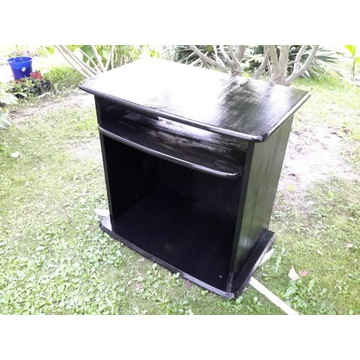 Stolik tv czarny, półka,używany