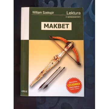 Makbet Szekspir - z opracowaniem greg wys. od 8 zł