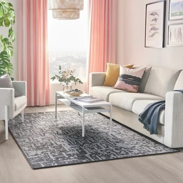 IKEA dywan GLUMSO CIEMNOSZARY 165x240 SUPER PROMO