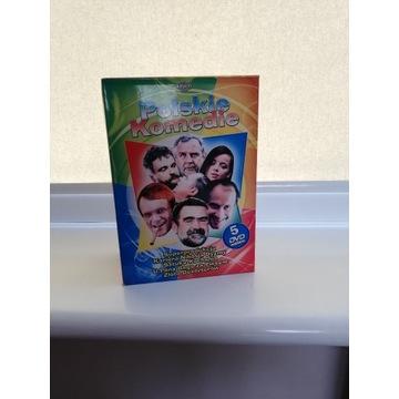 POLSKIE KOMEDIE BOX 5DVD UNIKAT OKZAJA!!!