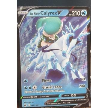 Pokemon - Ice Rider Calyrex V - 045/198