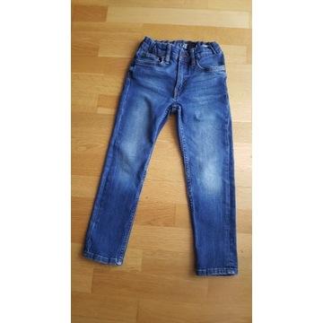 SPODNIE JEANSOWE jeansy H&M r.116 męskie slim