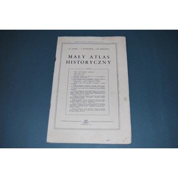 Starocia Mały Atlas Historyczny Wyd 1972r