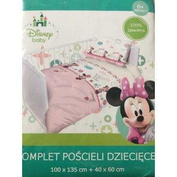 Pościel do łóżeczka 100x135 Myszka Mini Miki