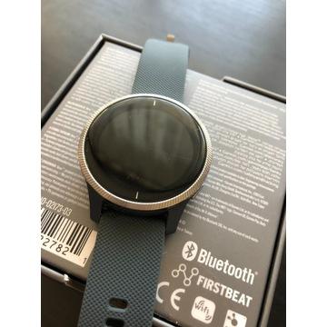 Smartwatch Garmin Venu (srebrno-granatowy)