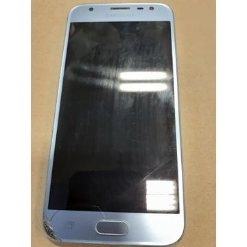 Samsung Galaxy J3 z 2017  uszkodzona szybka