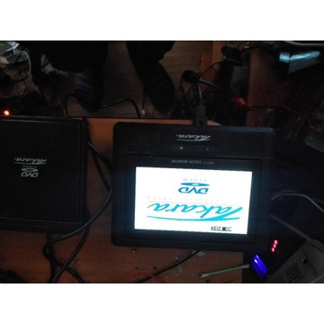 Zestaw Dvd video car system komplet z pilotem lcd