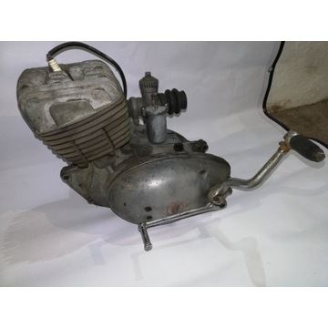 Silnik Wsk 125 Gil Bąk Lelek B3 odpala