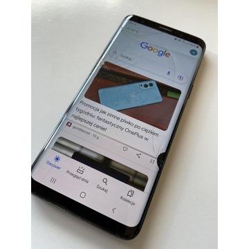 Samsung Galaxy S9 uszkodzony wyświetlacz